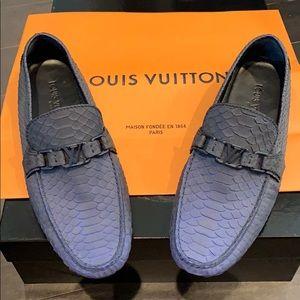 Super Rare Louis Vuitton Snakeskin Loafers